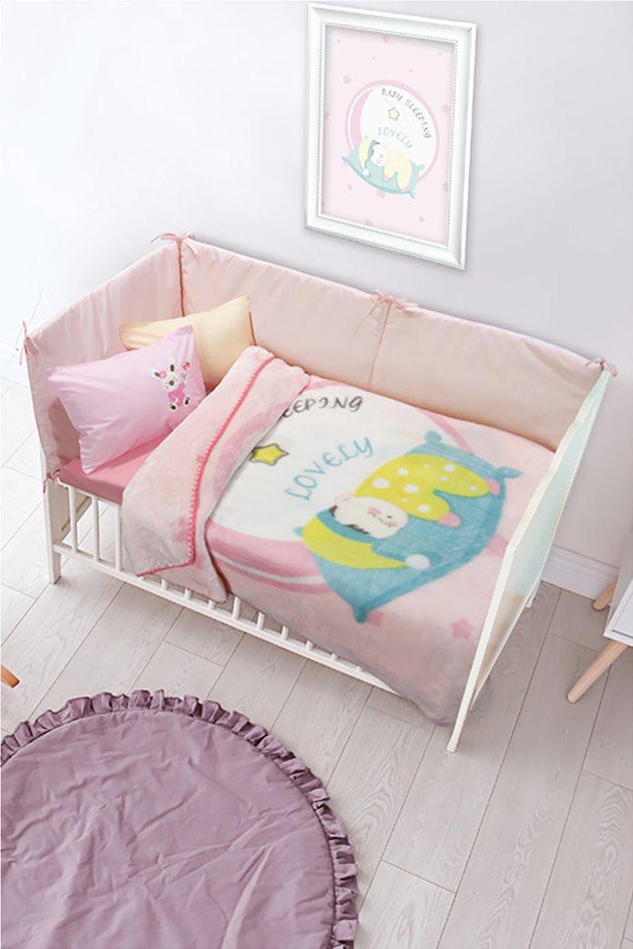 "Das kids παιδική κουβέρτα velour ""6561 Relax"" 110 x 140 cm 0"