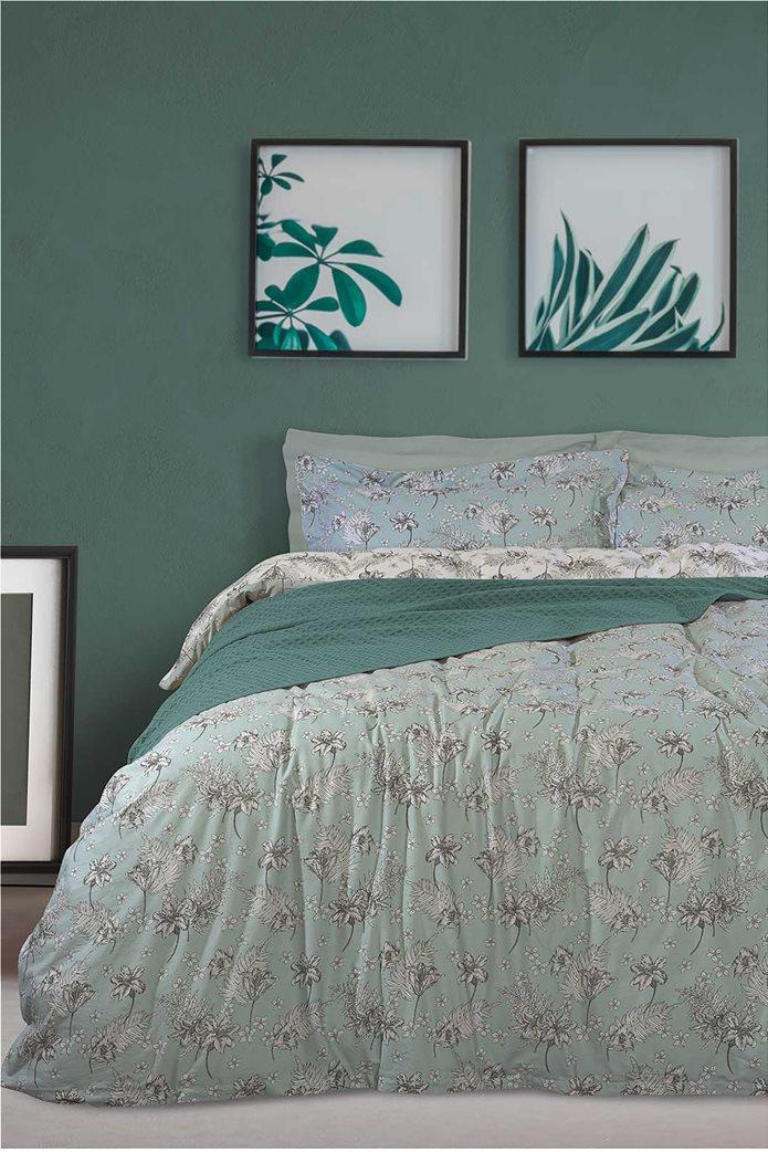 "Das home σετ υπέρδιπλα σεντόνια με floral print ""4741 Best"" (4 τεμάχια) 0"