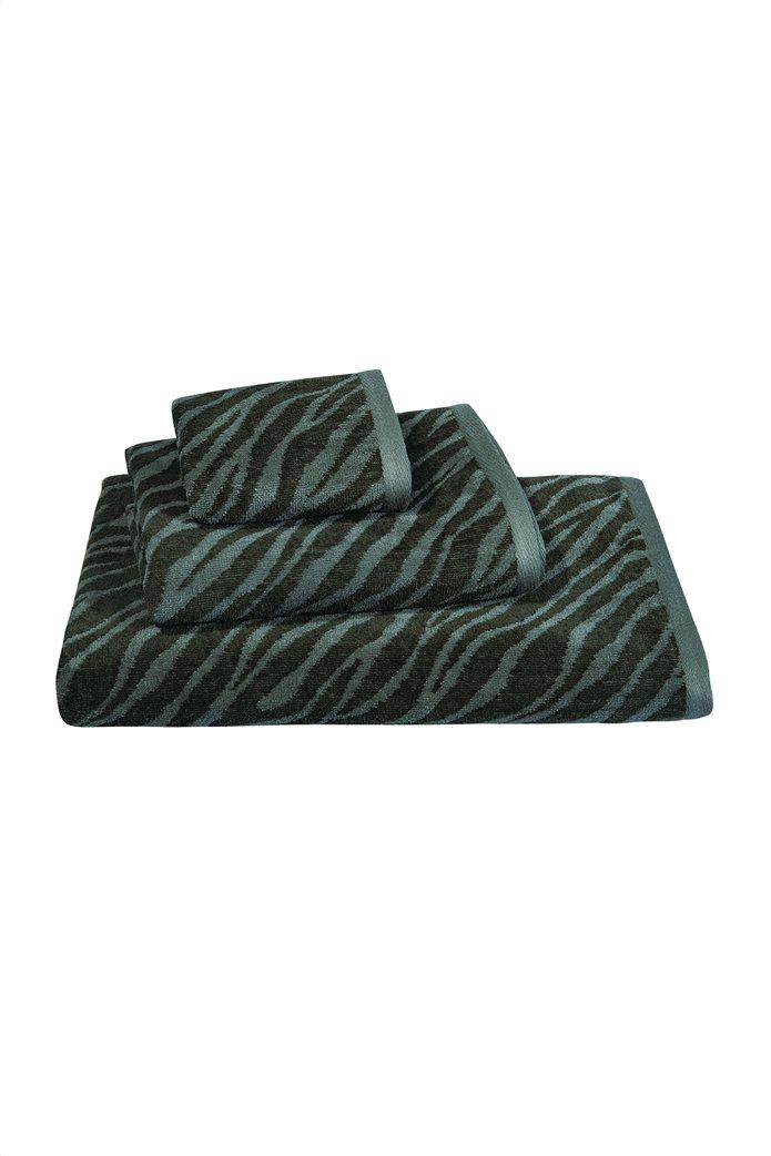 "Greenwich Polo Club σετ πετσέτες μπάνιου ""2566 Essential"" (3 τεμάχια) Χακί 0"