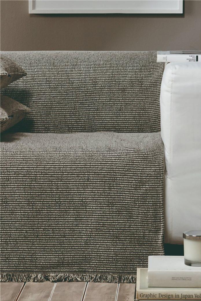 "Kentia ριγέ ριχτάρι διθέσιου καναπέ με κρόσσια ""Ribbon 34"" 180 x 250 cm 0"