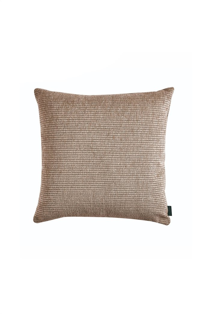 """Kentia διακοσμητική ριγέ μαξιλαροθήκη """"Ribbon 18"""" 50 x 50 cm 0"""