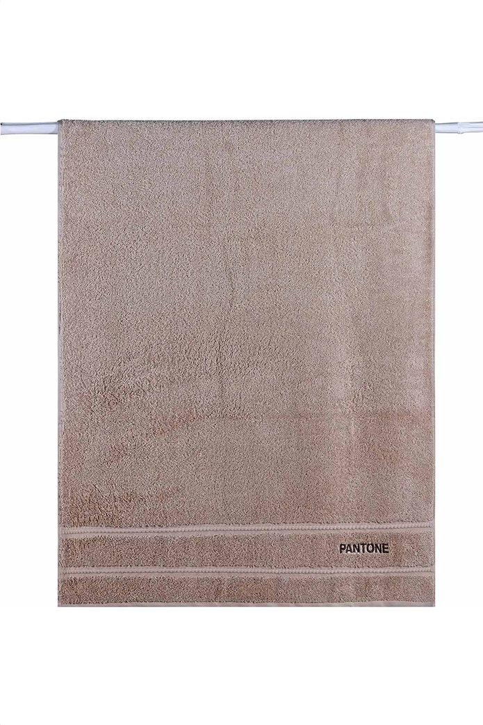 "Kentia πετσέτα προσώπου ""Pantone 0426"" 50 x 90 cm Μπεζ 0"