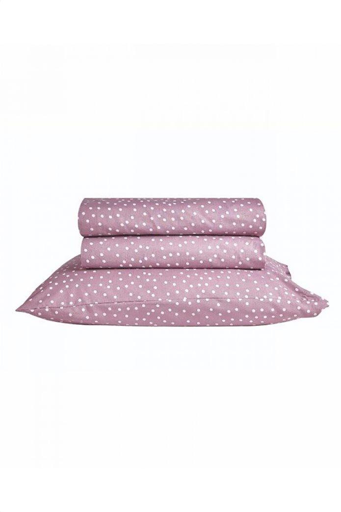 """Kentia σετ μαξιλαροθήκες με πουά σχέδιο """"Lollipop Polka 05"""" (2 τεμάχια) Μοβ 0"""
