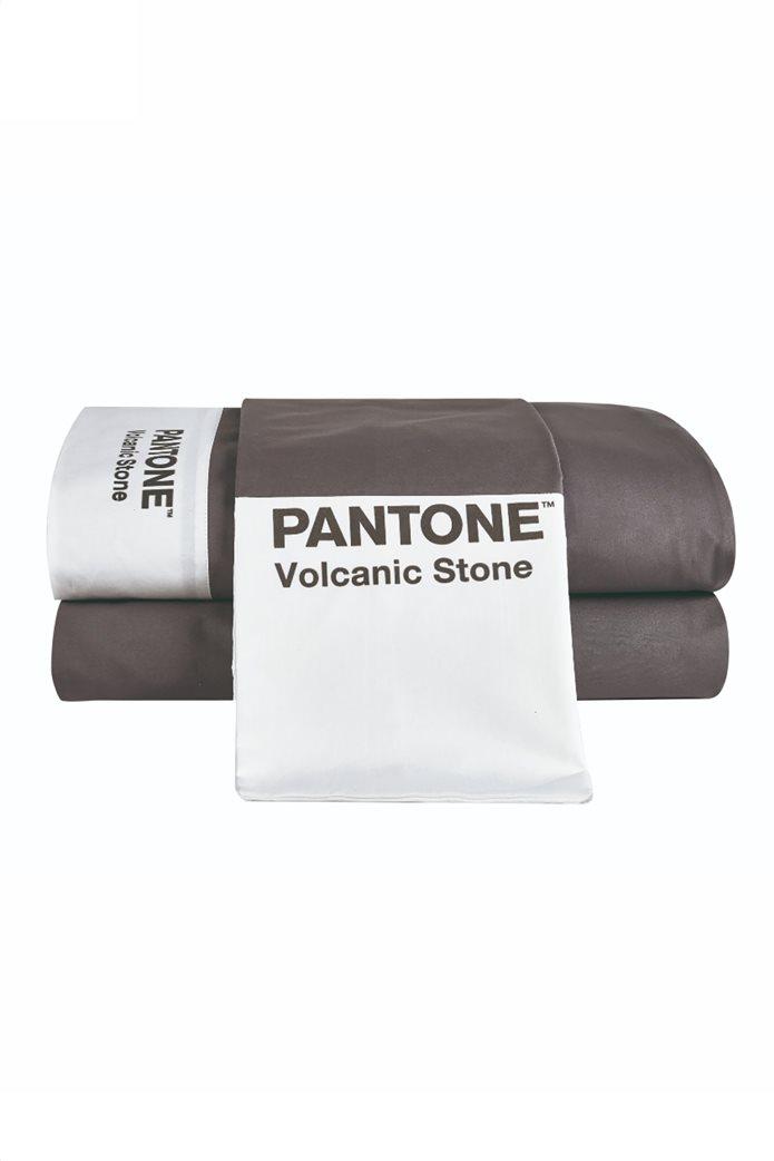 "Kentia σετ υπέρδιπλα σεντόνια ""Pantone 22"" (4 τεμάχια) 1"