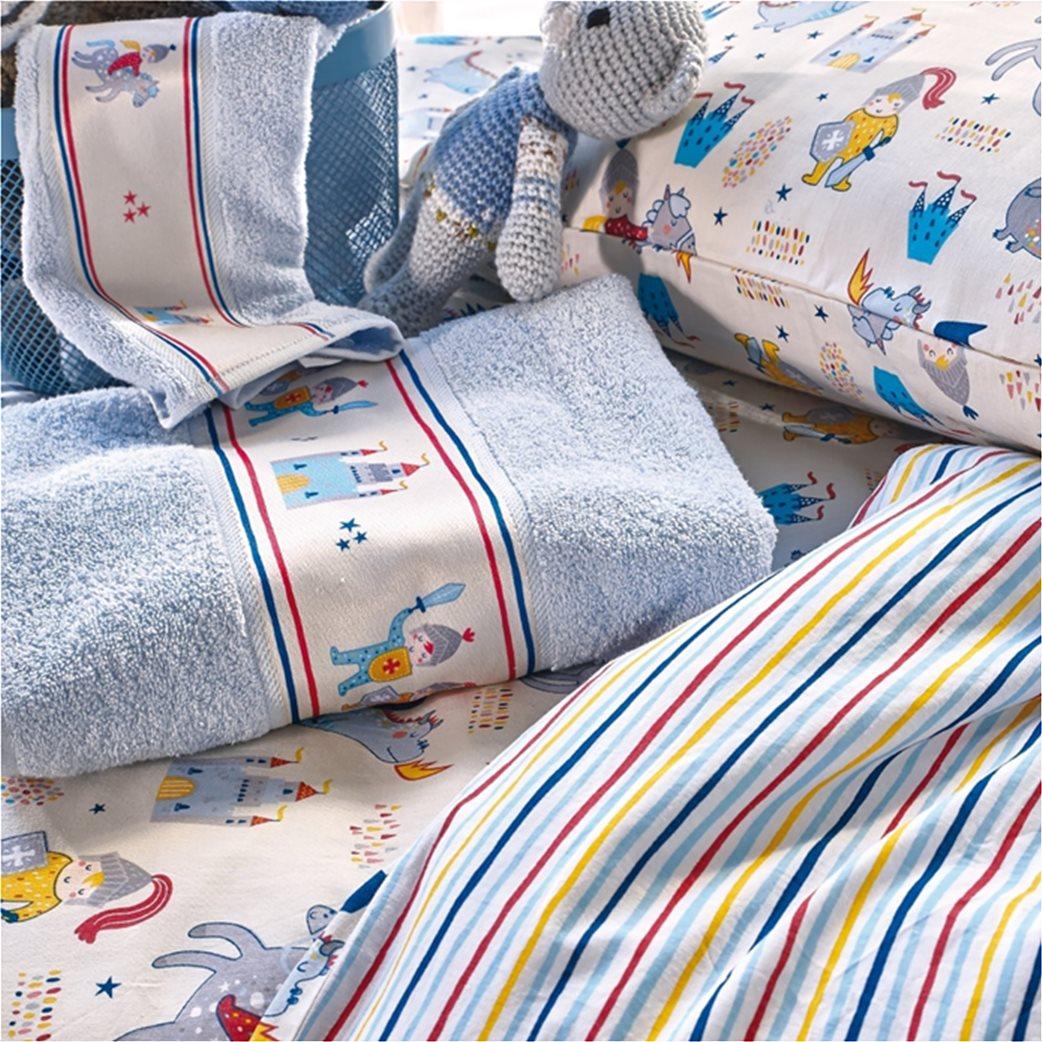 "Kentia σετ παιδικές πετσέτες με τρέσα ""Duke"" (2 τεμάχια) 1"