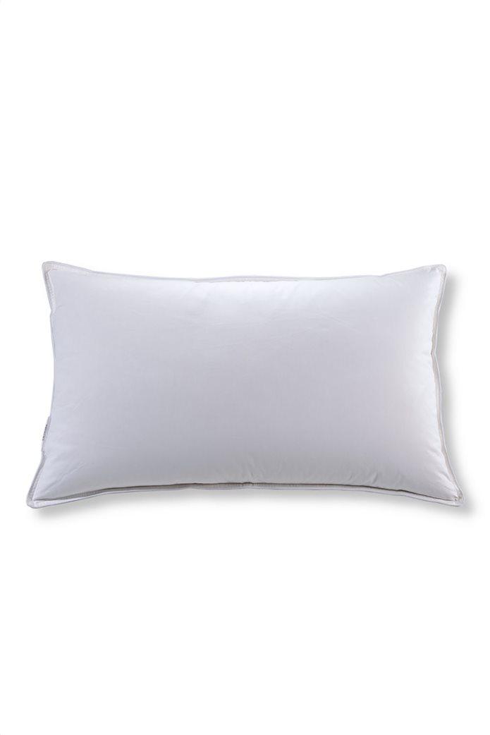"DOWN TOWN Home μαξιλάρι ύπνου πουπουλένιο ""Levico"" 50 x 80 cm Λευκό 0"