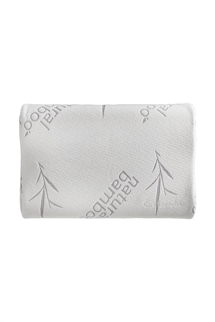 Guy Laroche ανατομικό μαξιλάρι ύπνου ''Visco Elastic'' 40 x 60 cm Λευκό 0