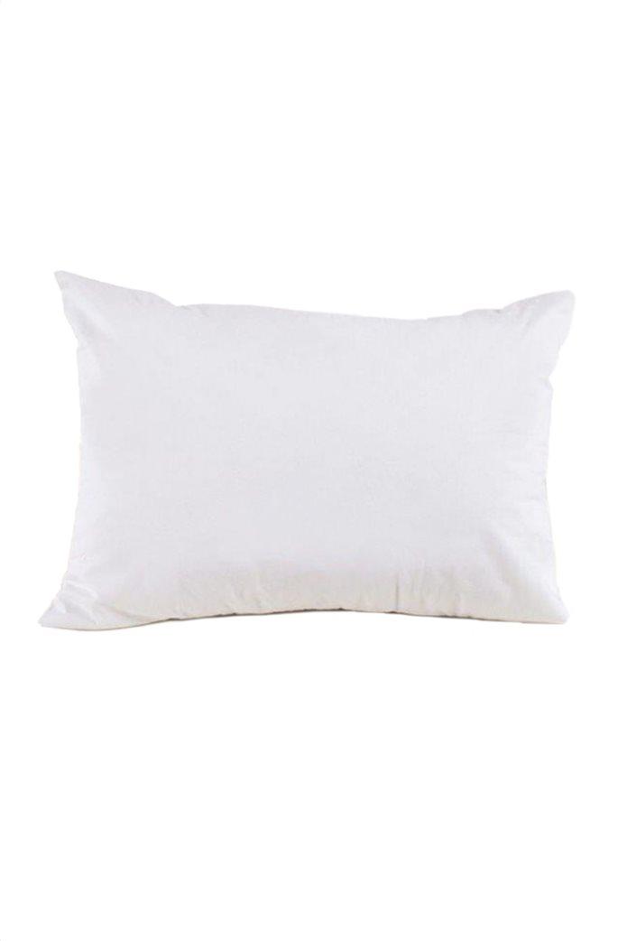 "Kentia αδιάβροχη μαξιλαροθήκη βαμβακερή ""Cotton Cover"" 50 x 70 cm Λευκό 0"