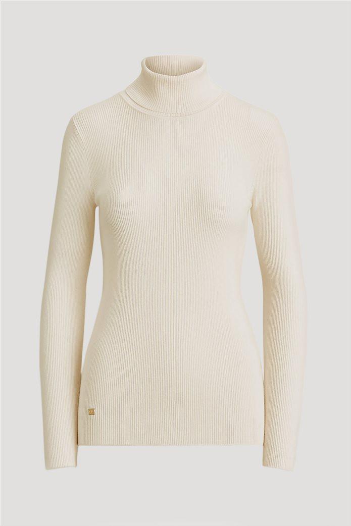 """Lauren Ralph Lauren γυναικεία πλεκτή  μπλούζα ζιβάγκο """"Roll Neck"""" 0"""