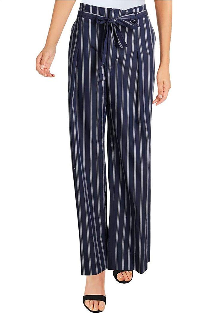 Lauren Ralph Lauren γυναικεία ριγέ παντελόνα με υφασμάτινο ζωνάκι Μπλε 0