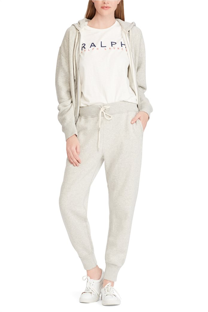 8f11a6fcc6a8 Polo Ralph Lauren γυναικεία ζακέτα - φούτερ Fleece Full-Zip Hoodie LT Sport  Heather 1
