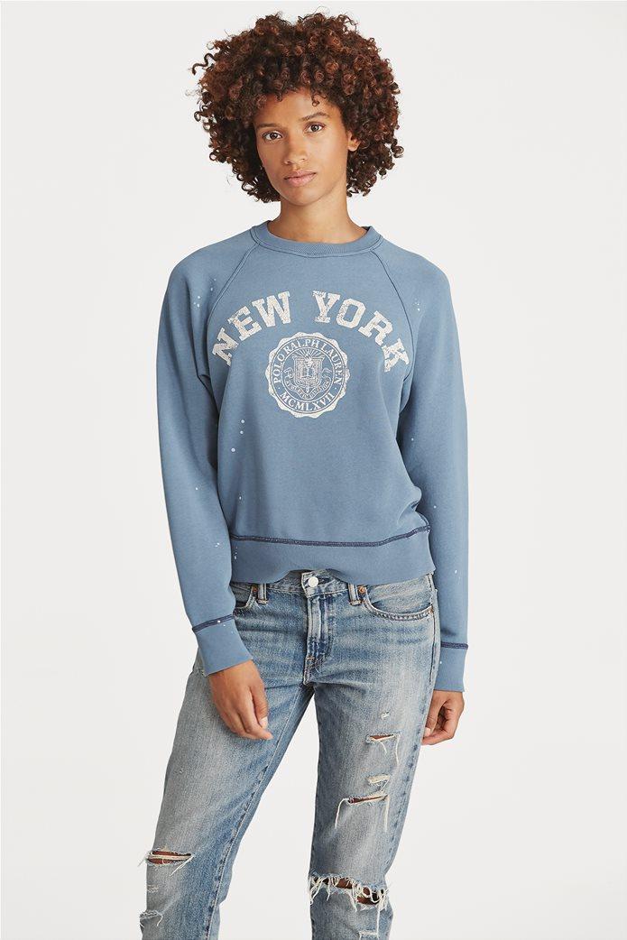 Polo Ralph Lauren γυναικείο φούτερ Print Fleece Pullover 0