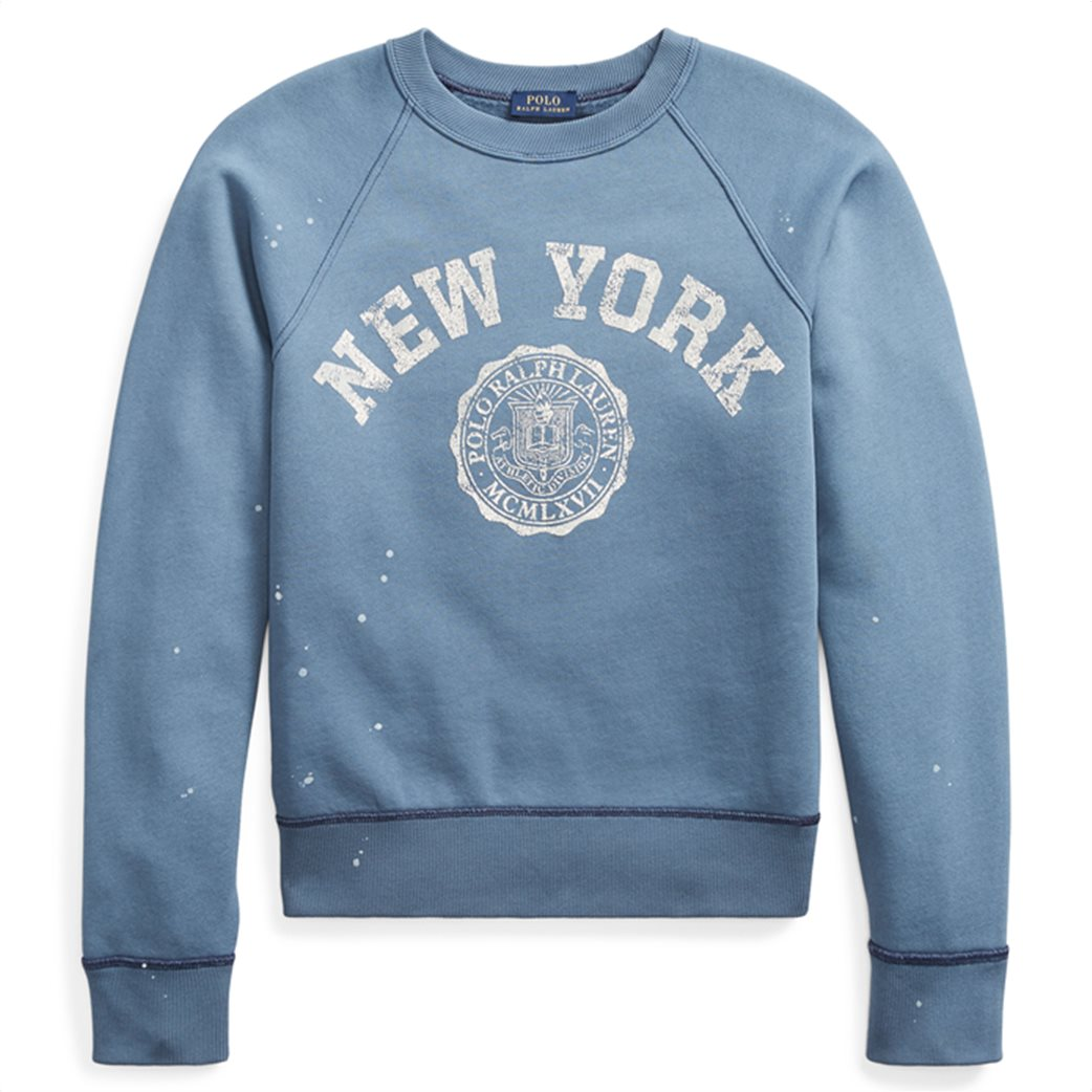 Polo Ralph Lauren γυναικείο φούτερ Print Fleece Pullover 1