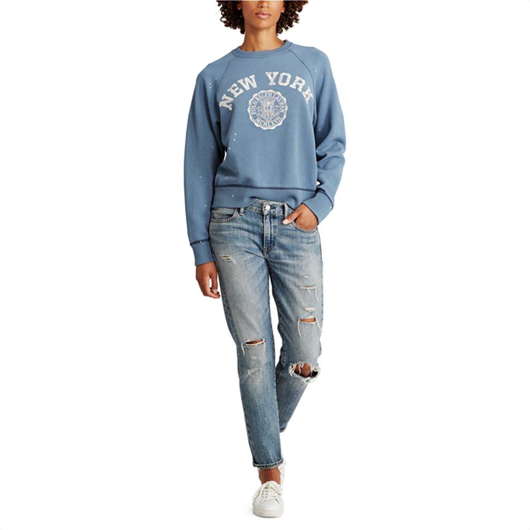 Polo Ralph Lauren γυναικείο φούτερ Print Fleece Pullover 2