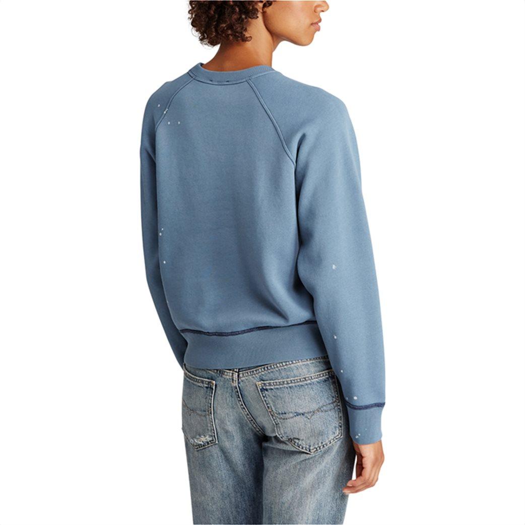 Polo Ralph Lauren γυναικείο φούτερ Print Fleece Pullover 3