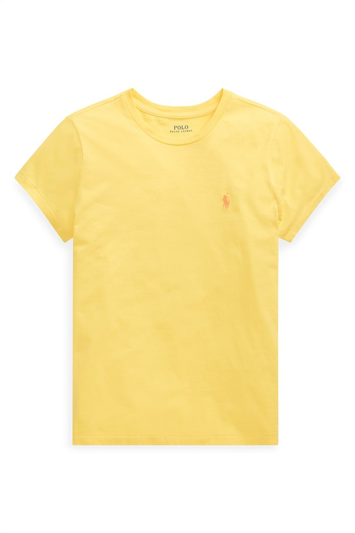 Polo Ralph Lauren γυναικείο μονόχρωμο T-shirt Cotton Crewneck 4