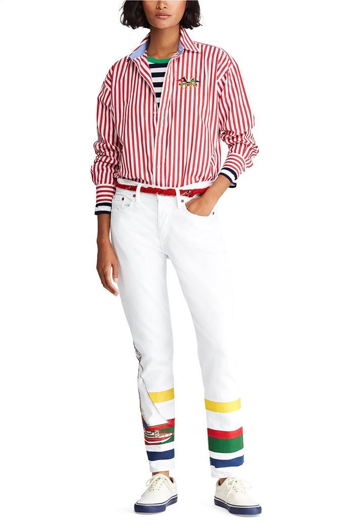 Polo Ralph Lauren γυναικεία ριγέ μπλούζα Striped Cotton 1