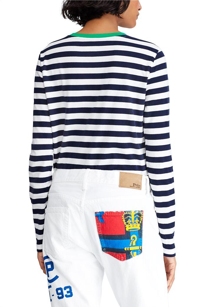 Polo Ralph Lauren γυναικεία ριγέ μπλούζα Striped Cotton 3