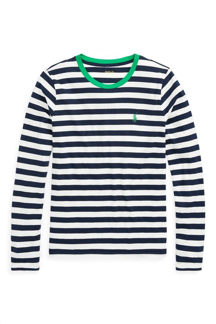 Polo Ralph Lauren γυναικεία ριγέ μπλούζα Striped Cotton 4