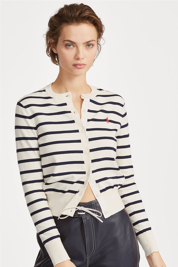 Polo Ralph Lauren γυναικεία ριγέ ζακέτα Striped Cardigan 0