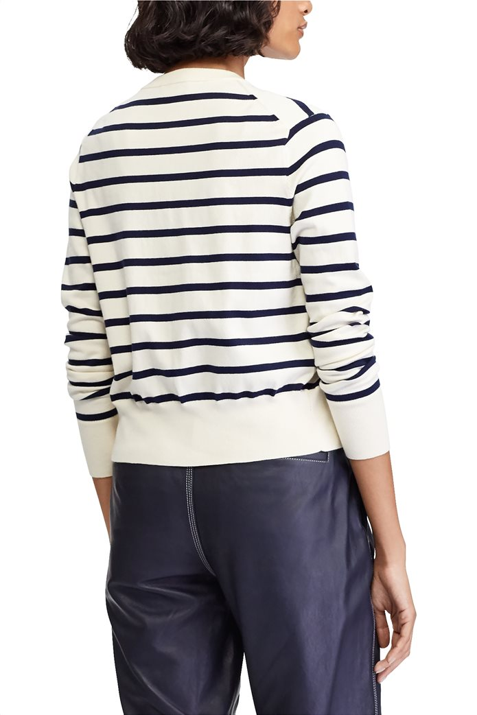 Polo Ralph Lauren γυναικεία ριγέ ζακέτα Striped Cardigan 3