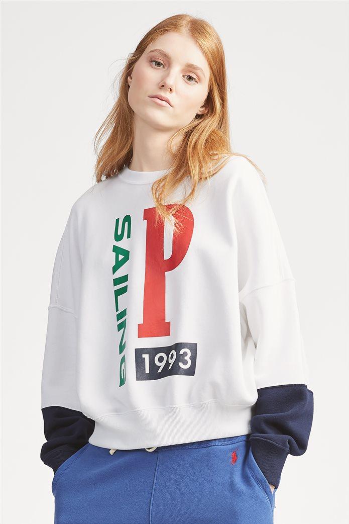 Polo Ralph Lauren γυναικείο φούτερ Print Fleece 0