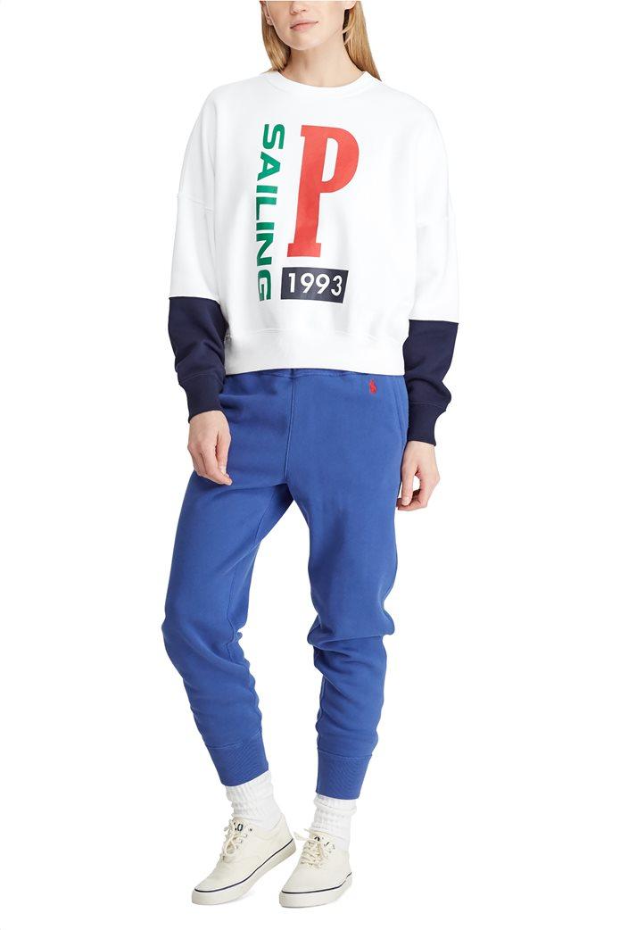 Polo Ralph Lauren γυναικείο φούτερ Print Fleece 1