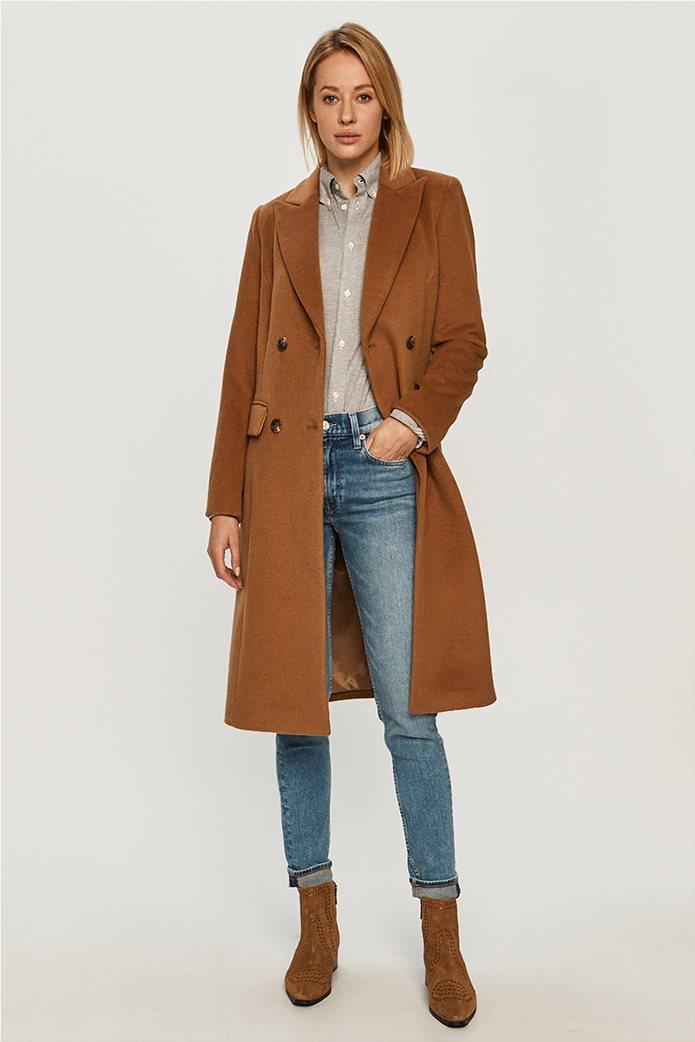 Lauren Ralph Lauren γυναικείο midi παλτό με κουμπιά 0