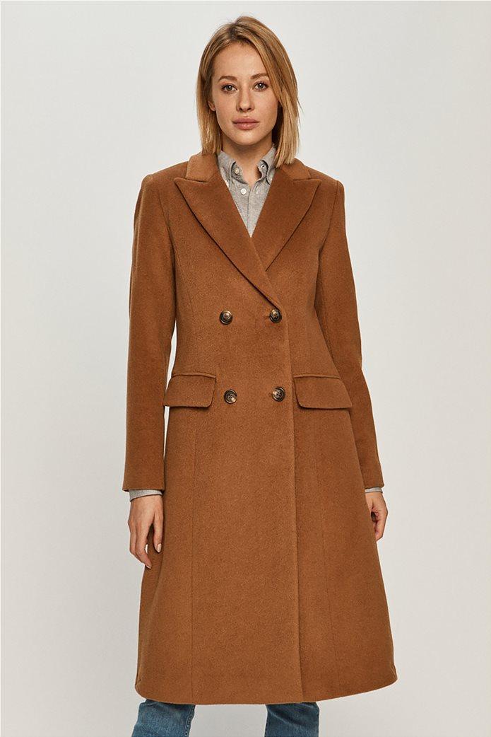 Lauren Ralph Lauren γυναικείο midi παλτό με κουμπιά 2