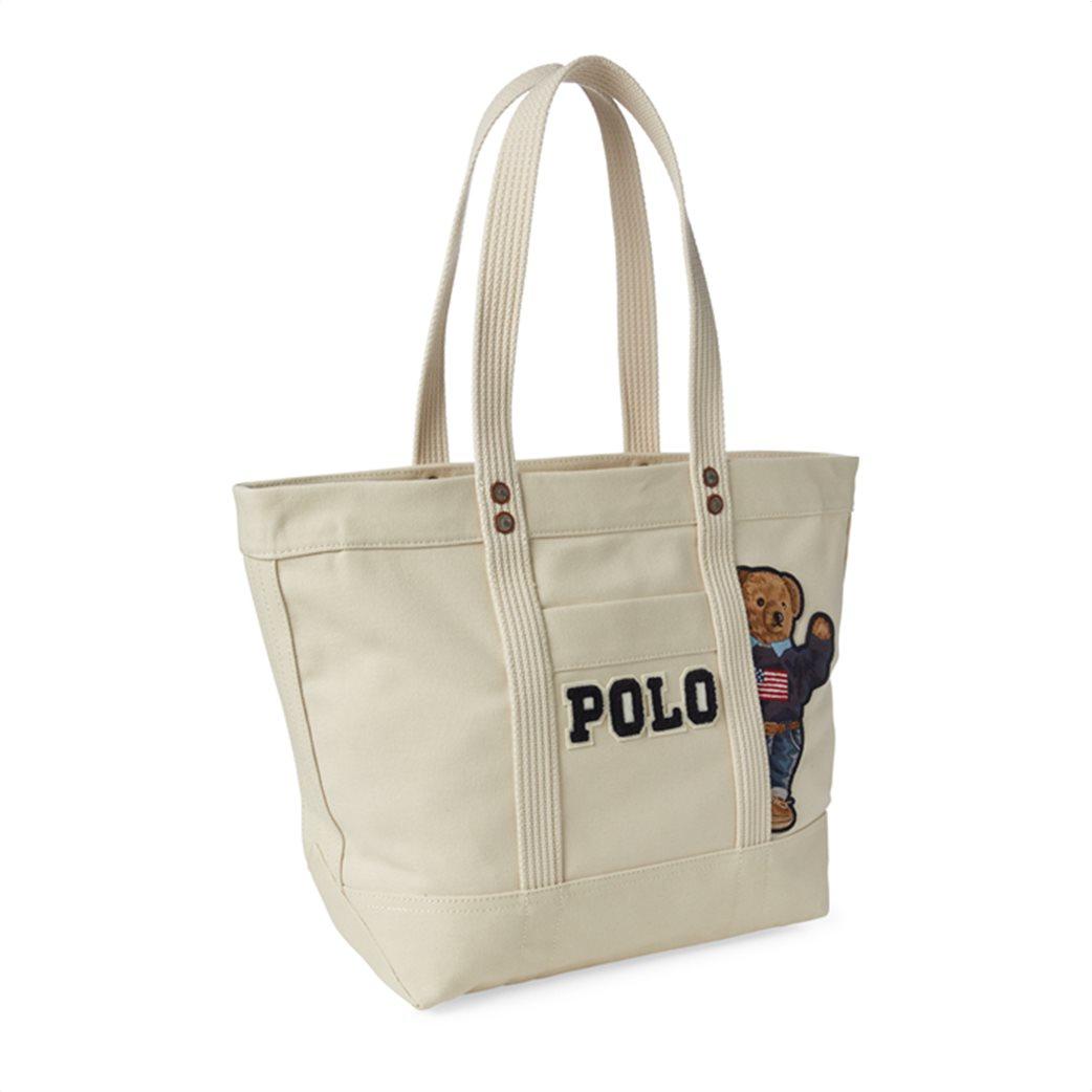 Polo Ralph Lauren γυναικεία τσάντα ώμου Canvas Polo Bear 2