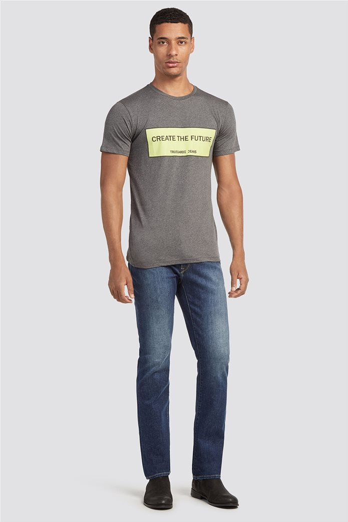 Trussardi Jeans ανδρικό τζην παντελόνι Icon fit 0