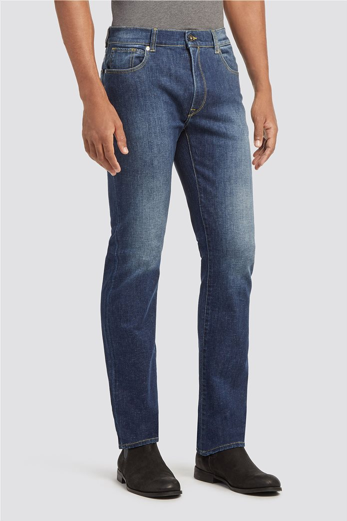 Trussardi Jeans ανδρικό τζην παντελόνι Icon fit 1
