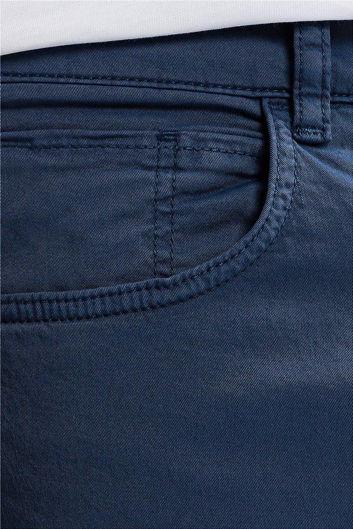 Trussardi Jeans ανδρικό παντελόνι πεντάτσεπο straight fit Μπλε 3