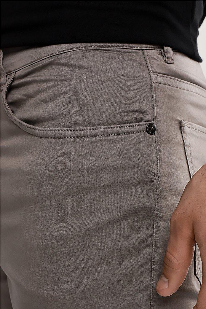 Trussardi ανδρικό τζην παντελόνι πεντάτσεπο Γκρι 2