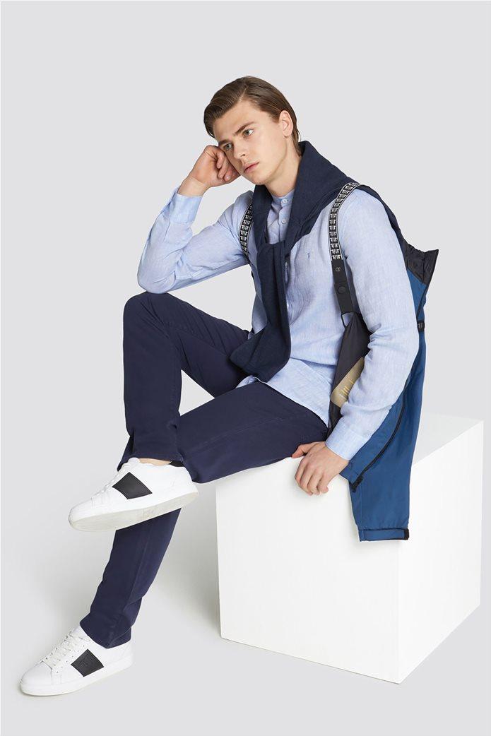 Trussardi Jeans ανδρική μακρυμάνικη μπλεκτή μπλούζα Slim fit 2