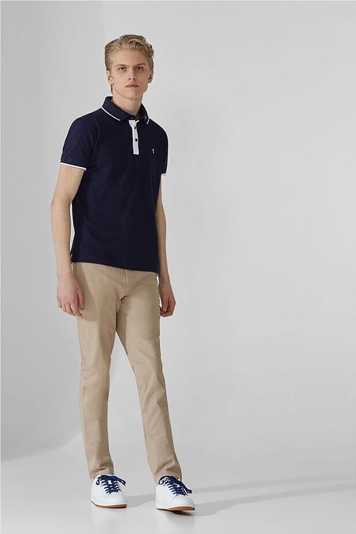 Trussardi ανδρικό chino παντελόνι μονόχρωμο Μπεζ 1