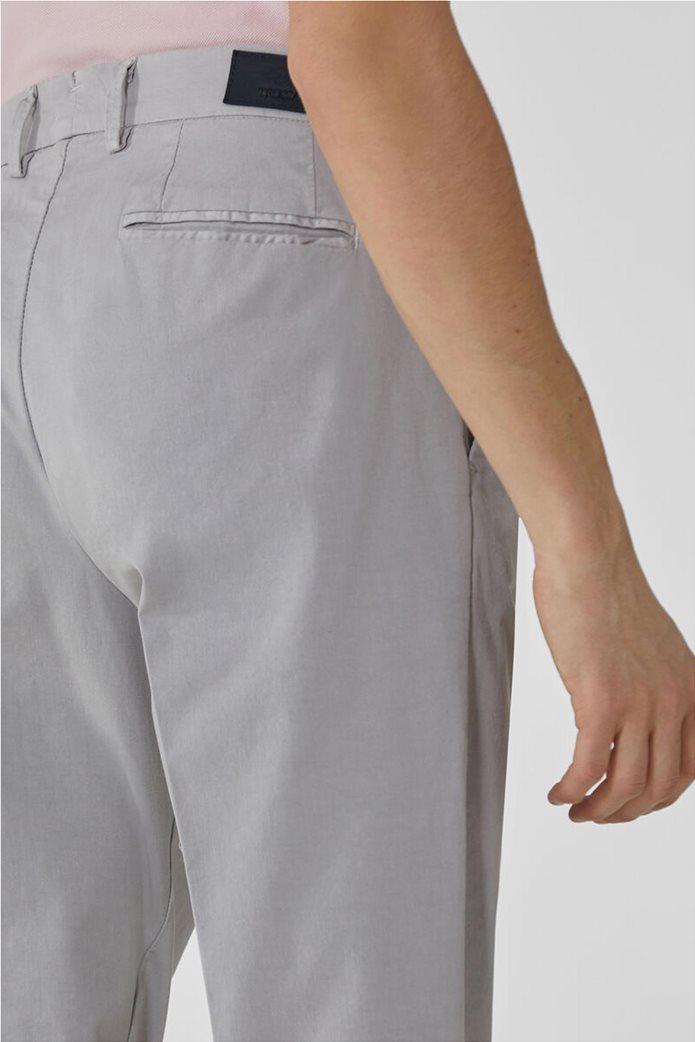 Trussardi Jeans ανδρικό chino παντελόνι μονόχρωμο 4