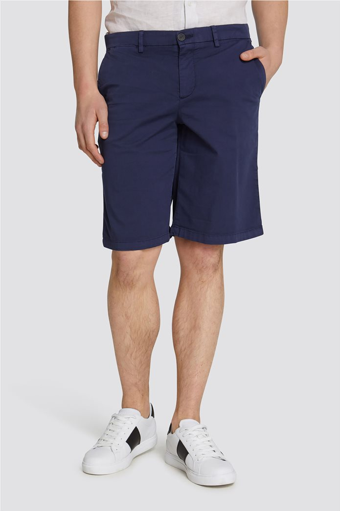 Trussardi Jeans ανδρική βερμούδα Aviator fit 0