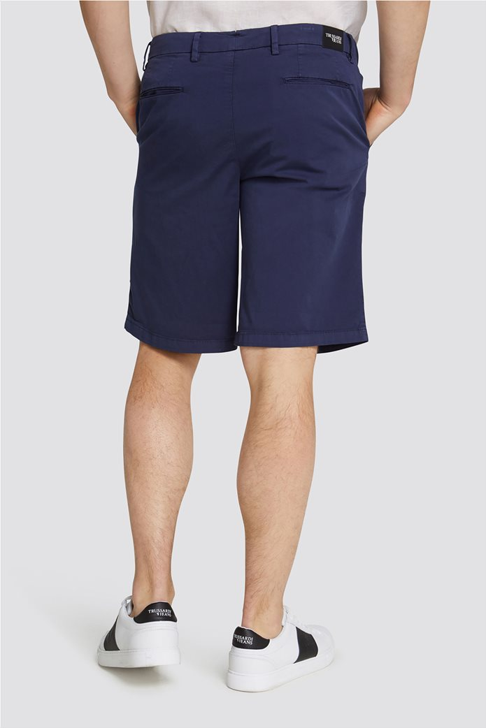Trussardi Jeans ανδρική βερμούδα Aviator fit 1