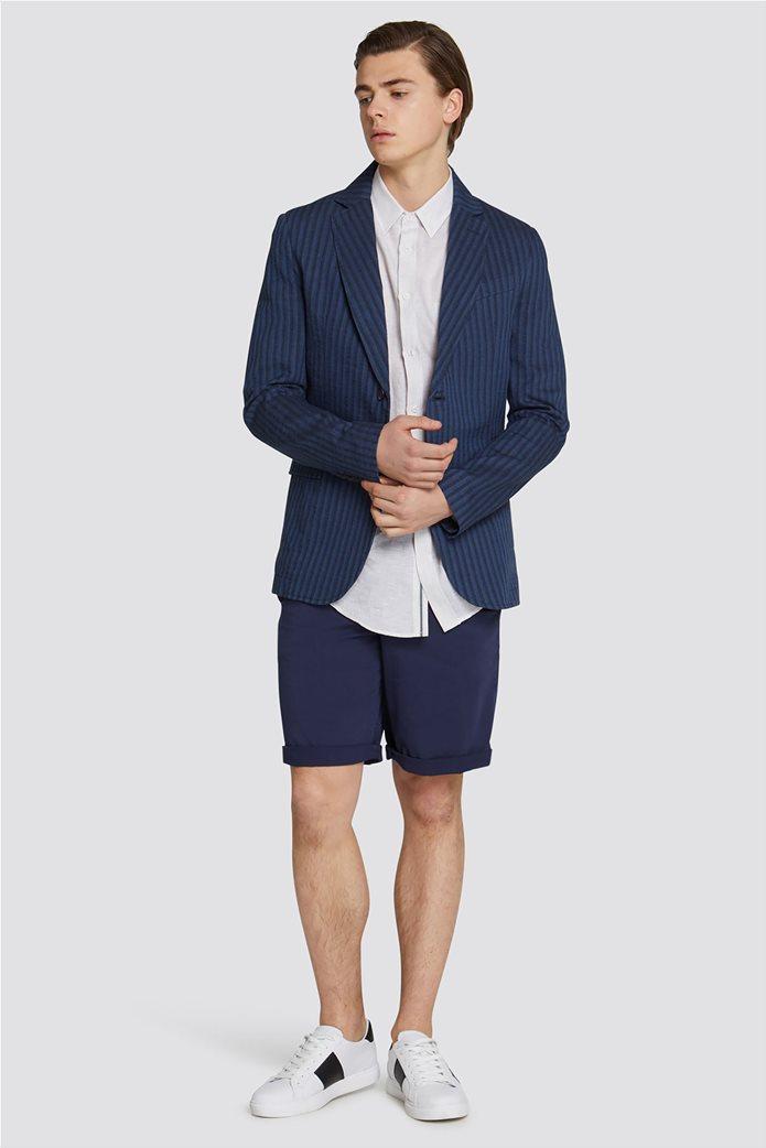 Trussardi Jeans ανδρική βερμούδα Aviator fit 2