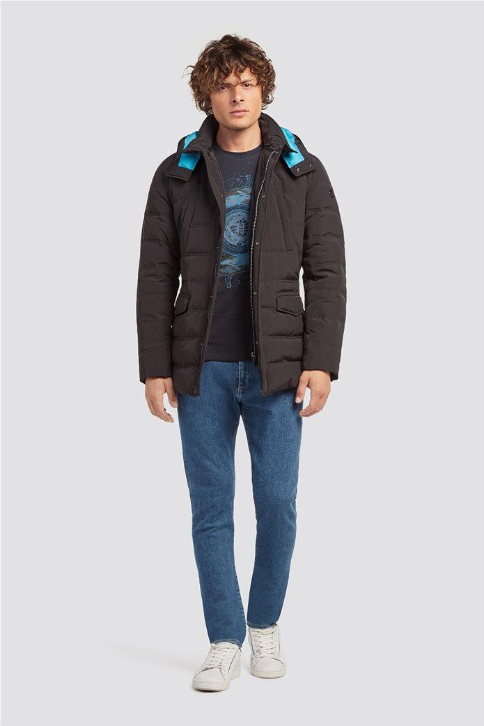 Trussardi Jeans ανδρικό oversized parka 1