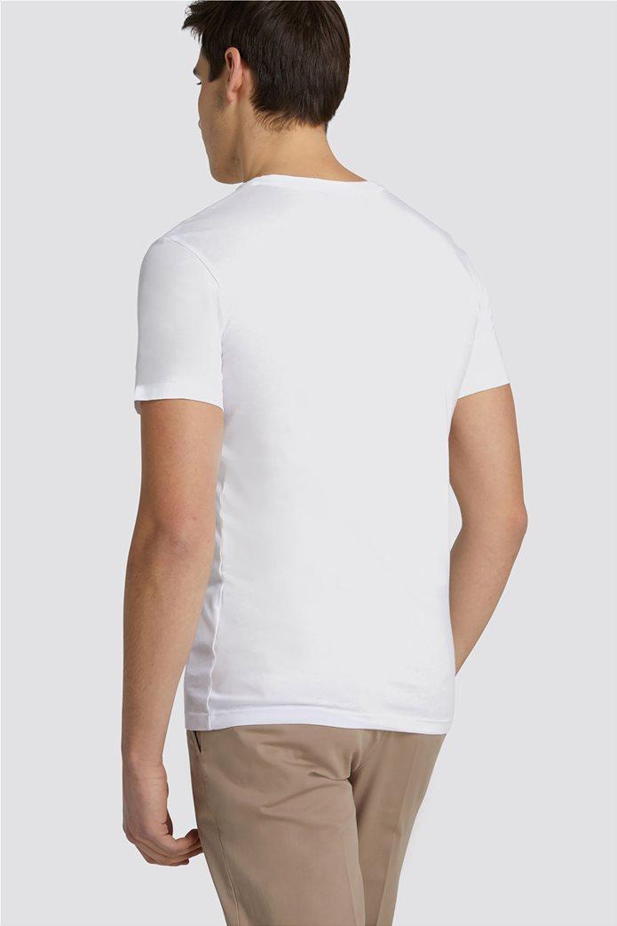 Trussardi Jeans ανδρικό Τ-Shirt με μεγάλο λογότυπο 1
