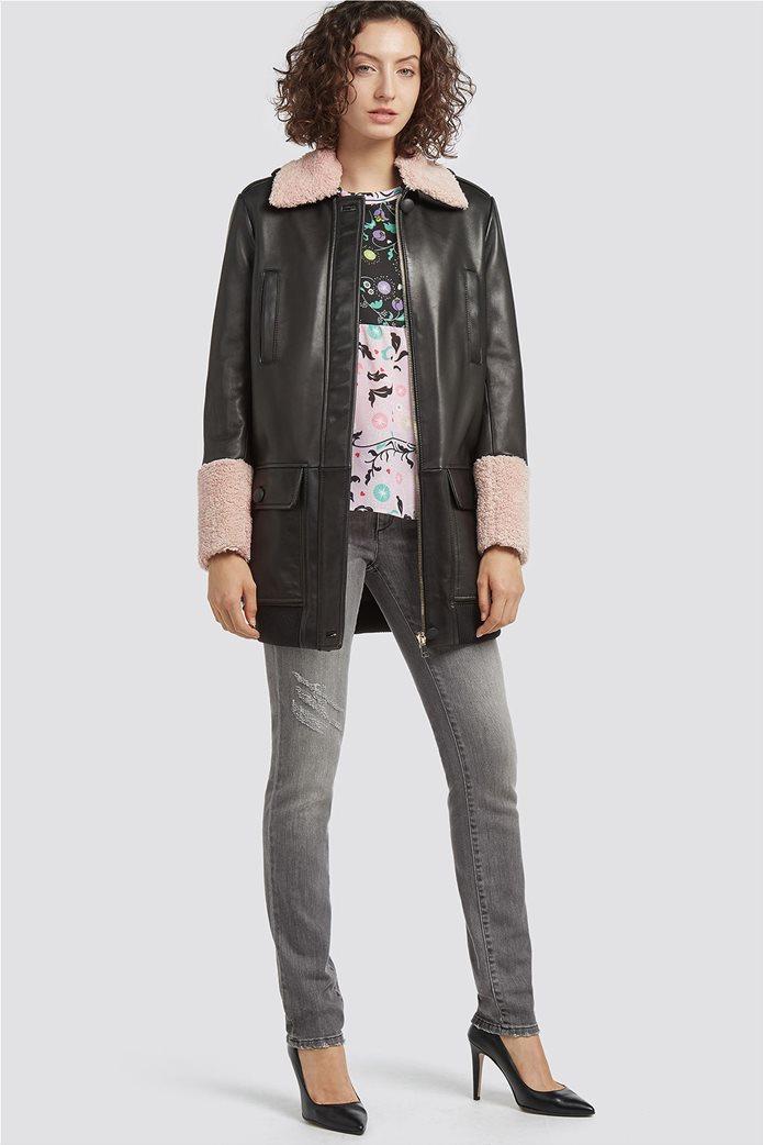 Trussardi Jeans γυναικεία μπλούζα με εμπριμέ print 1
