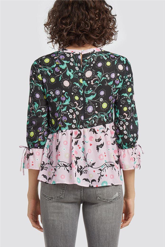 Trussardi Jeans γυναικεία μπλούζα με εμπριμέ print 2