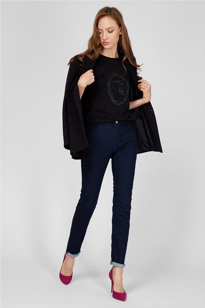 Trussardi Jeans γυναικείο τζην πεντάστεπο Skinny Fit 1