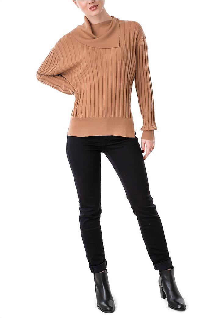 Trussardi Jeans γυναικείο τζην παντελόνι πεντάτσεπο με logo print 0