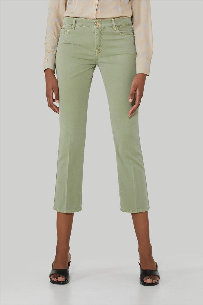 Trussardi γυναικείο cropped παντελόνι πεντάτσεπο 0
