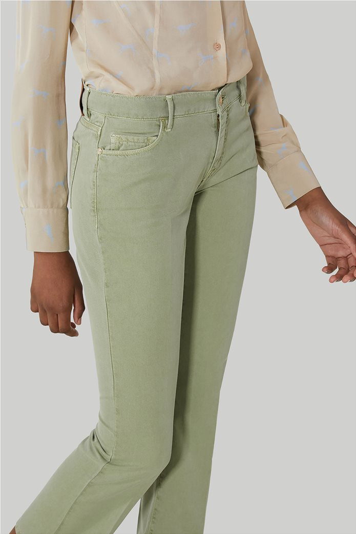 Trussardi γυναικείο cropped παντελόνι πεντάτσεπο 1