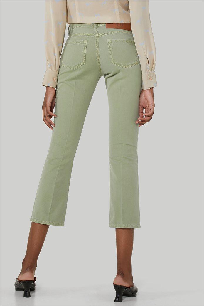 Trussardi γυναικείο cropped παντελόνι πεντάτσεπο 2