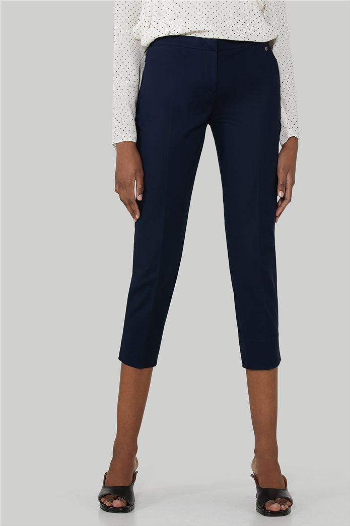 Trussardi Jeans γυναικείο capri παντελόνι με πλαϊνές τσέπες 0